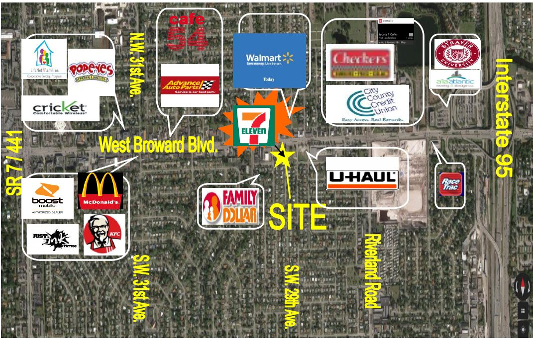 Ft. Lauderdale Land for Sale - Contiguous to New 7-Eleven